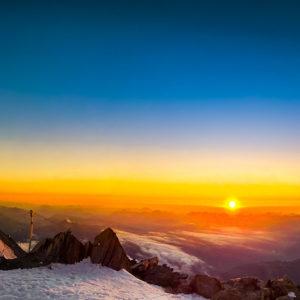 Mont Blanc voie normale guide